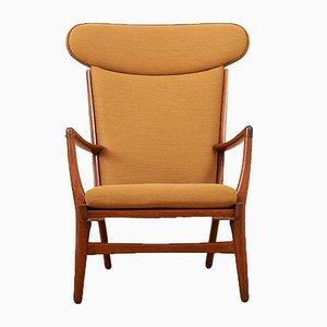 Mid-Century Modell AP-15 Sessel von Hans J. Wegner für AP Stoelen, 1950er