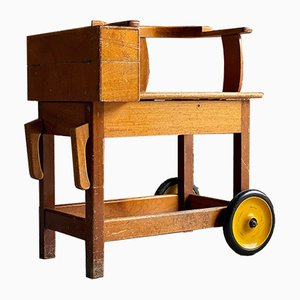 Antique English Horse Racing Jockey Weighing Chair, 1930s