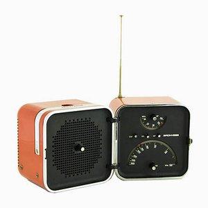 Modell TS 502 Radio von Marco Zanuso & Richard Sapper für Brionvega, 1960er