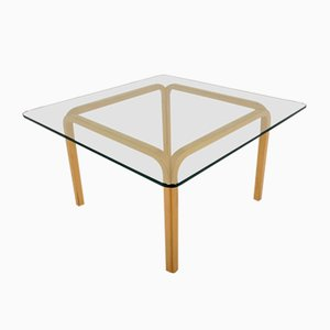 Vintage Finnish Model Y805 Coffee Table by Alvar Aalto, 1980s