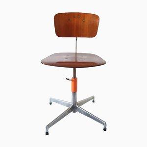 Chaise de Bureau par Jorgen Rasmunssen pour Labofa, Danemark, 1950s