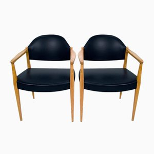 Swedish Lounge Chairs, 1960s, Set of 2