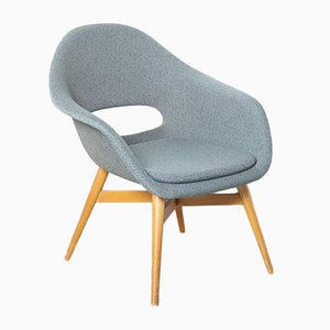 Mid-Century Bucket Armchair by Miroslav Navratil for Vertex