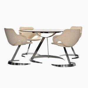 Ensemble de Salle à Manger par Boris Tabacoff pour Mobilier Modulaire Moderne, 1960s