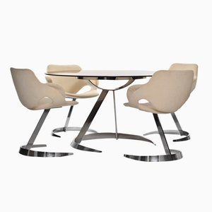 Esszimmergarnitur von Boris Tabacoff für Mobilier Modulaire Moderne, 1960er