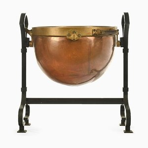 Copper Cauldron Bowl, 1920s