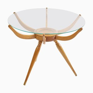 Round Tripod Coffee Table by Carlo de Carli, 1950s