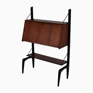 Wall Secretaire by Louis van Teeffelen for WéBé, 1960s