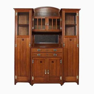 Antique Highboard by Serrurier-Bovy