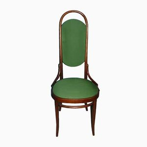 Mid-Century Green High Back Dining Chairs by Michael Thonet for Thonet, Set of 6