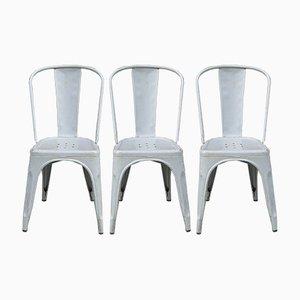 Vintage Stühle von Xavier Pauchard für Tolix, 1930er, 3er Set