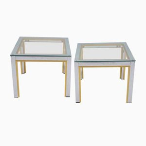 Italian Side Tables from Renato Zevi, 1960s, Set of 2