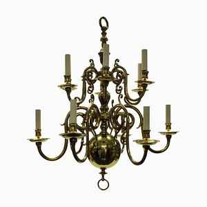 Antique 17th Century Style English Chandelier