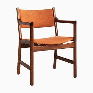 Chaise d'Appoint Mid-Century par Hans J. Wegner pour Johannes Hansen, Danemark, 1960s