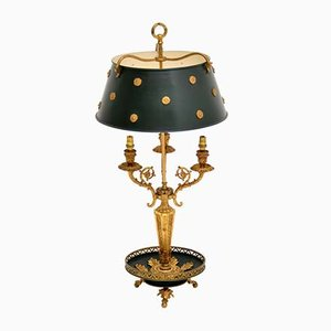 Antike französische Tischlampe im neoklassizistischen Stil