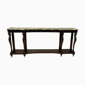 Vintage Neoclassical Style Italian Console Table, 1940s