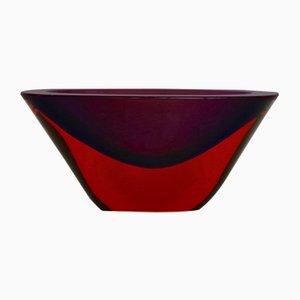 Versenkte Vase von Flavio Poli, 1960er