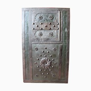 Antique Studded Safe
