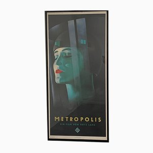 Metropolis Film Poster from Dambach Templin, 1979