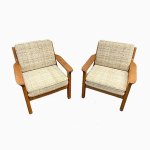 Armchairs by Kristensen Juul for Glostrup, Denmark, 1960s, Set of 2