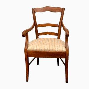 Antiker Nussholz Sessel