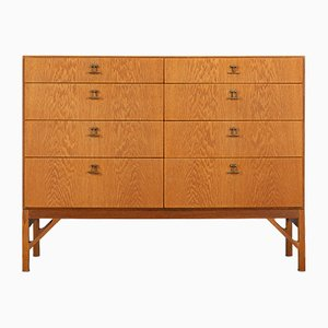 Danish Oak No. 234 Chest of Drawers by Børge Mogensen for FDB Mobler, 1960s