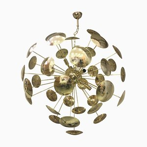 Multi Colored Murano Glass Sputnik Chandelier from Italian Light Design