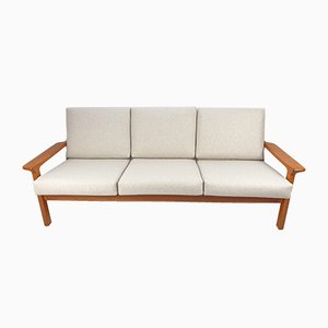 Teak 3-Seater Sofa by Juul Kristensen for Glostrup, 1970s