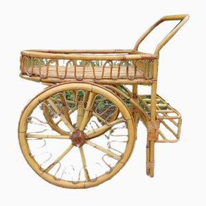 Vintage Serving Bar Cart