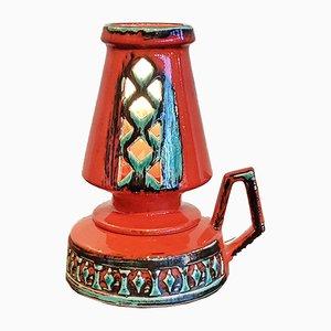 Mid-Century Tischlampe von Fohr Keramik
