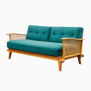 Cherrywood Sofa Daybed, 1950s