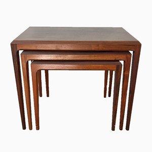 Tables Gigognes par Johannes Andersen pour CFC, 1960s