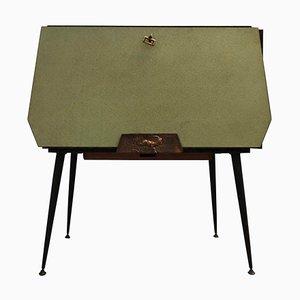 Mid-Century Modern Italian Openable Bar Cabinet, 1950s