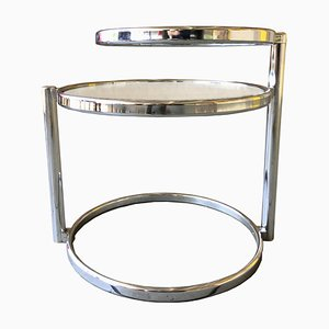 Side Table in Glass, Sweden, 1980s