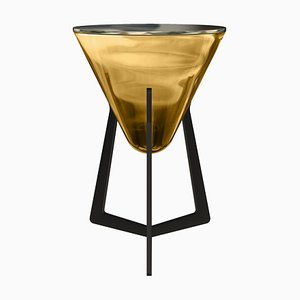 Side Table Bernstein Amber by Stefan Seidel for Aguti Design