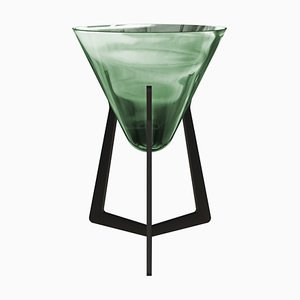 Side Table Emerald Green Base without Tabletop by Stefan Seidel for Aguti Design
