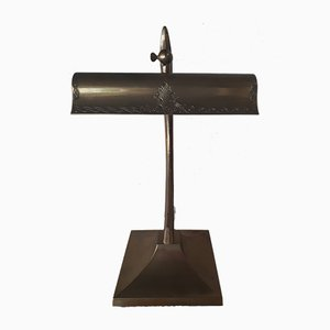 Vintage Desk Lamp in Brass