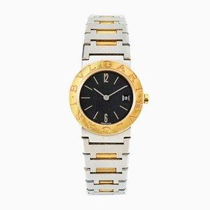 Reloj para mujer de oro de 18 quilates y acero de Bulgari