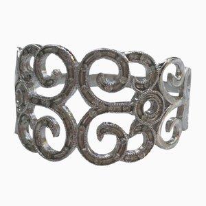 Weißgoldener Ring mit Diamanten