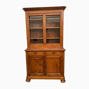 Antique Italian Pinewood Cabinet
