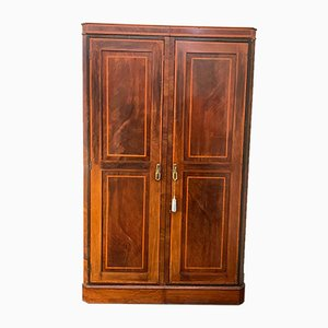Small 19th Century Mahogany Wardrobe
