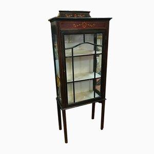 Mueble inglés antiguo de caoba, década de 1900