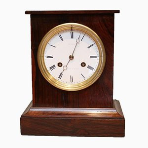Antique Rosewood Mantel Clock by Charles Frodsham to HM Queen Victoria
