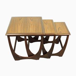 Tables Gigognes Mid-Century par Victor Wilkins pour G-Plan, 1960s