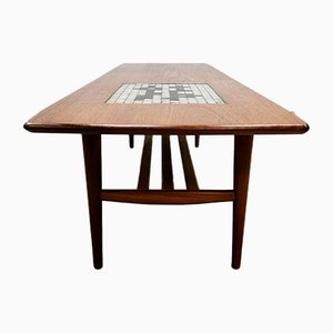 Vintage Tile Coffee Table by Louis van Teeffelen for Webe, 1960s