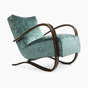Vintage Armchairs by Jindrich Halabala, Set of 2