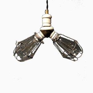 American Benjamin Double Berth Lamp, 1930s