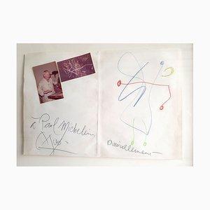Ohne Titel von Joan Miro, 1972