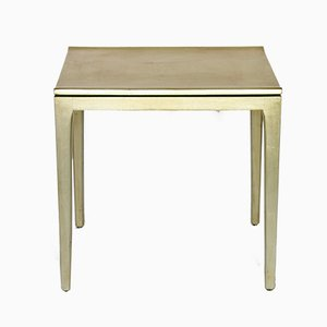 Gold-Leaf Side Table, 2000s