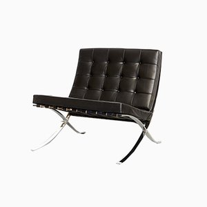 Modell MR90 Barcelona Chair von Ludwig Mies van der Rohe für Knoll Inc. / Knoll International, 1980er